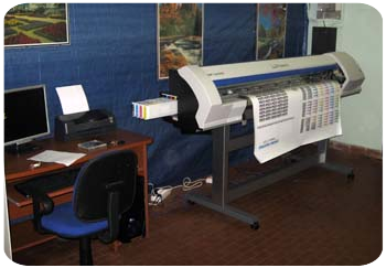 Stampa digitale con plotter Roland